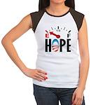Anti Obama 2012 Women's Cap Sleeve T-Shirt
