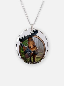 Party Moose Necklace