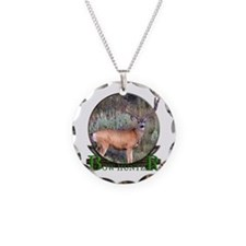 bow hunter, trophy buck Necklace