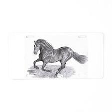 Majestic Pride Aluminum License Plate