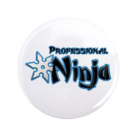 """Ninja Pro 3.5"""" Button (100 pack)"""