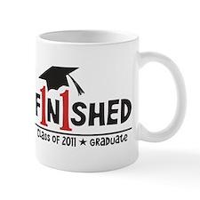 Finished! Graduation '11 Mug