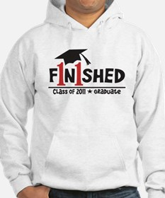 Finished! Graduation '11 Hoodie