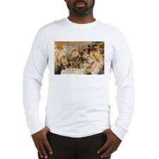Renoir Quote and Landscape Long Sleeve T-Shirt