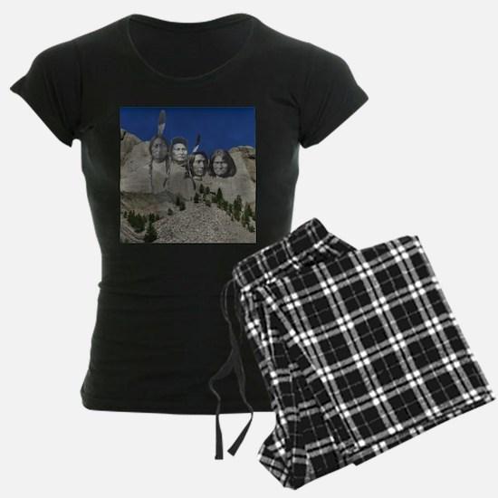 Native Mt. Rushmore pajamas