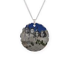 Native Mt. Rushmore Necklace