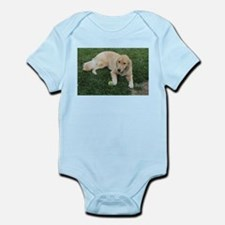 Nala young golden retriever with tennis Body Suit