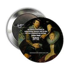 Rubens Self Portrait & Quote Button