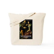 Rubens Self Portrait & Quote Tote Bag