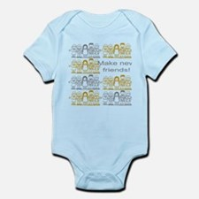 Make New Friends Infant Bodysuit
