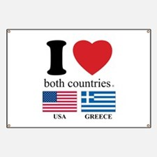 USA-GREECE Banner
