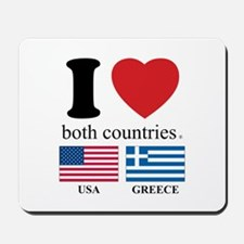 USA-GREECE Mousepad