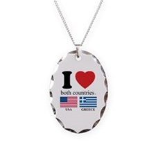 USA-GREECE Necklace