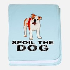 Spoil the Dog baby blanket