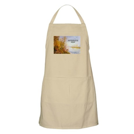 Alfred Sisley Nature Quote BBQ Apron