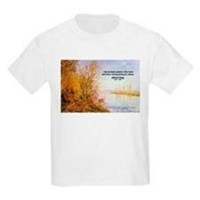 Alfred Sisley Nature Quote Kids T-Shirt