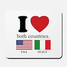 USA-ITALY Mousepad