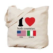 USA-ITALY Tote Bag
