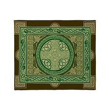 Single-Sided Celtic Cross Blanket / Tapestry