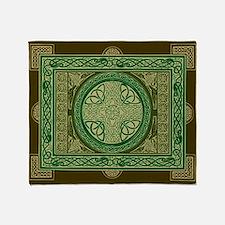 Celtic Cross Blanket / Tapestry
