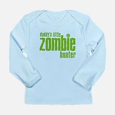 Daddy's Little Zombie Hunter Long Sleeve Infant T-