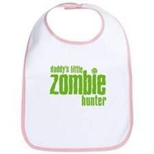 Daddy's Little Zombie Hunter Bib