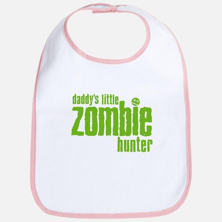 Daddy's Little Zombie Hunter Bib