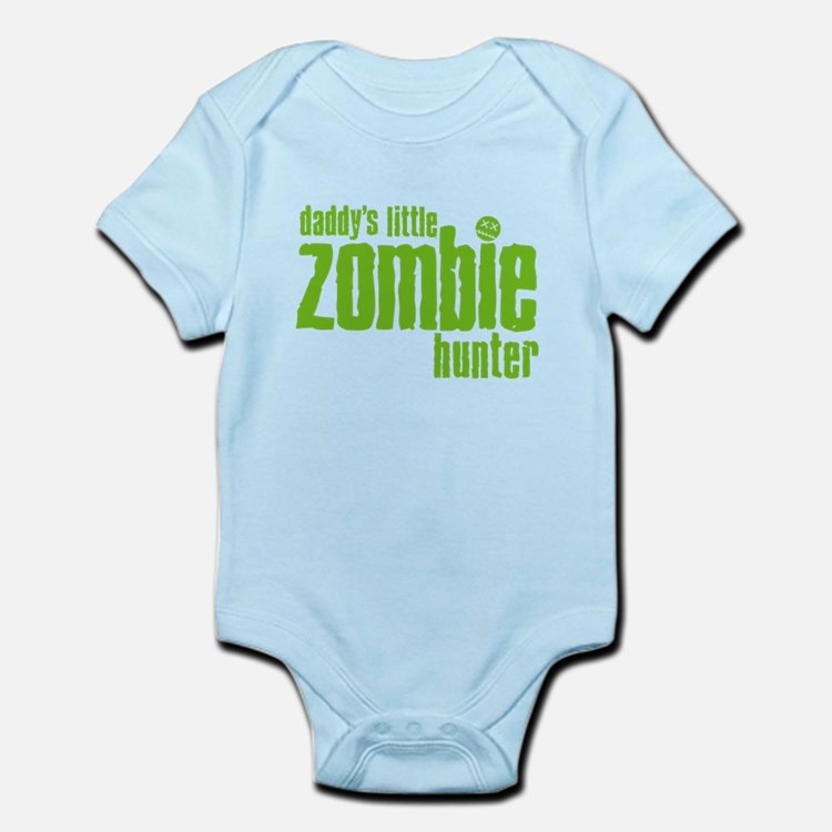 Daddy's Little Zombie Hunter Infant Bodysuit