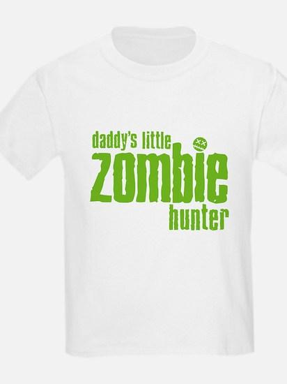 Daddy's Little Zombie Hunter T-Shirt
