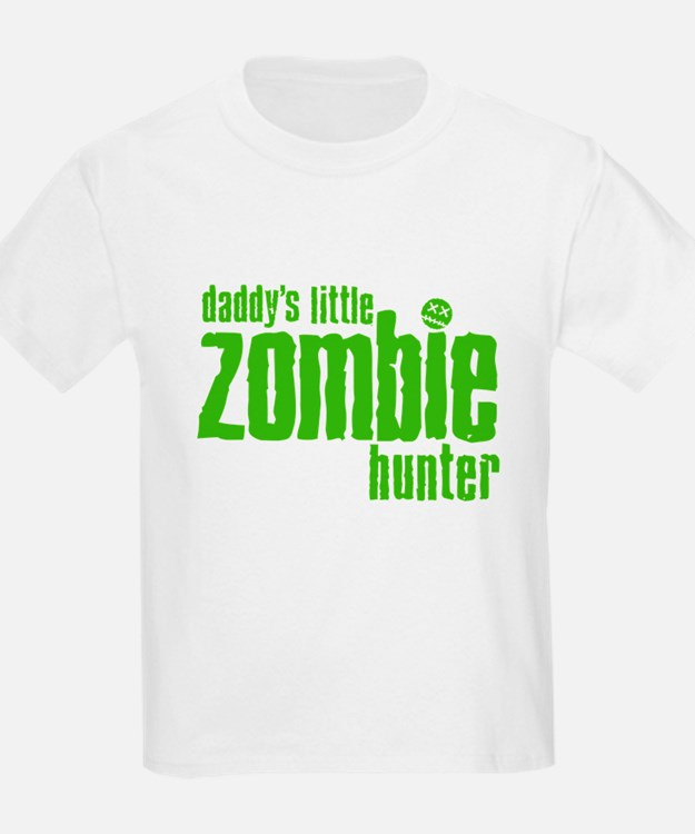 Daddy's Little Zombie Hunter T-Shirt