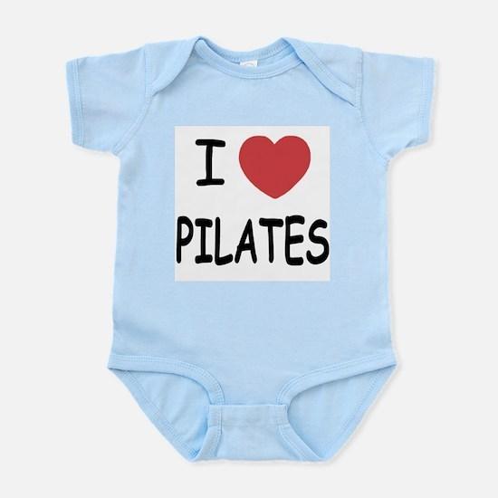 I heart pilates Infant Bodysuit