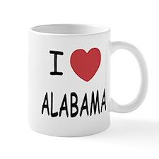I heart Alabama Small Mug