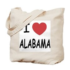 I heart Alabama Tote Bag
