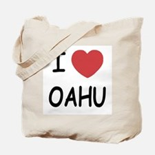 I heart Oahu Tote Bag