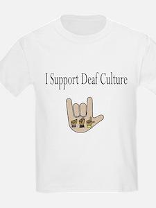 I support Deaf culture T-Shirt