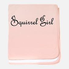 Squirrel Girl baby blanket