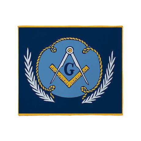 Single-Sided Masonic Blanket