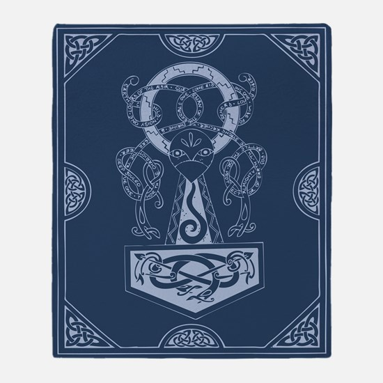 Single-Sided Asatru Mojllnir Blanket