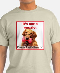 It's not a muzzle. T-Shirt