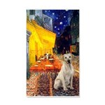 Cafe-Yellow Lab 7 35x21 Wall Decal