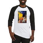 Cafe-Yellow Lab 7 Baseball Jersey