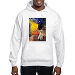 Cafe-Yellow Lab 7 Hooded Sweatshirt