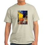 Cafe-Yellow Lab 7 Light T-Shirt