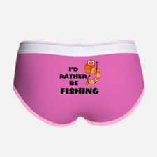 I'd Rather Be Fishing Women's Boy Brief