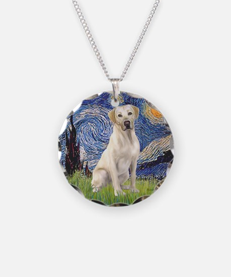 Starry - Yellow Lab 7 Necklace
