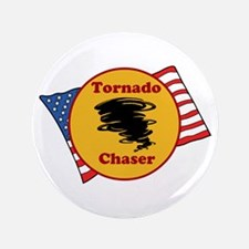 "Tornado Chaser 3.5"" Button"