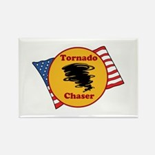 Tornado Chaser Rectangle Magnet