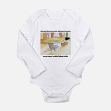 IQ Mouse4Libraries Long Sleeve Infant Bodysuit