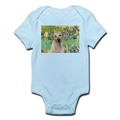 Irises - Yellow Labrador Infant Bodysuit