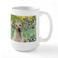 Irises - Yellow Labrador Mug